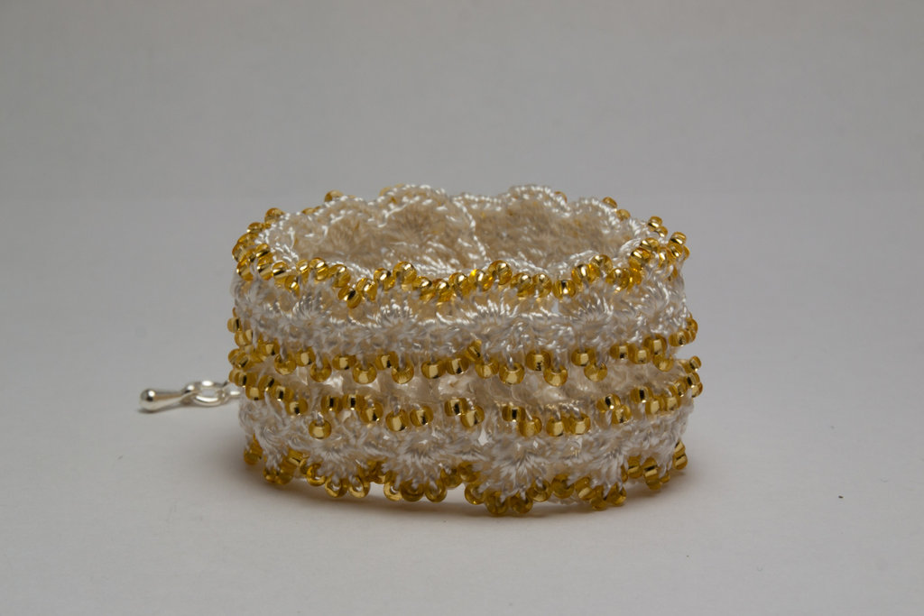 Gold Rocaille Cuff