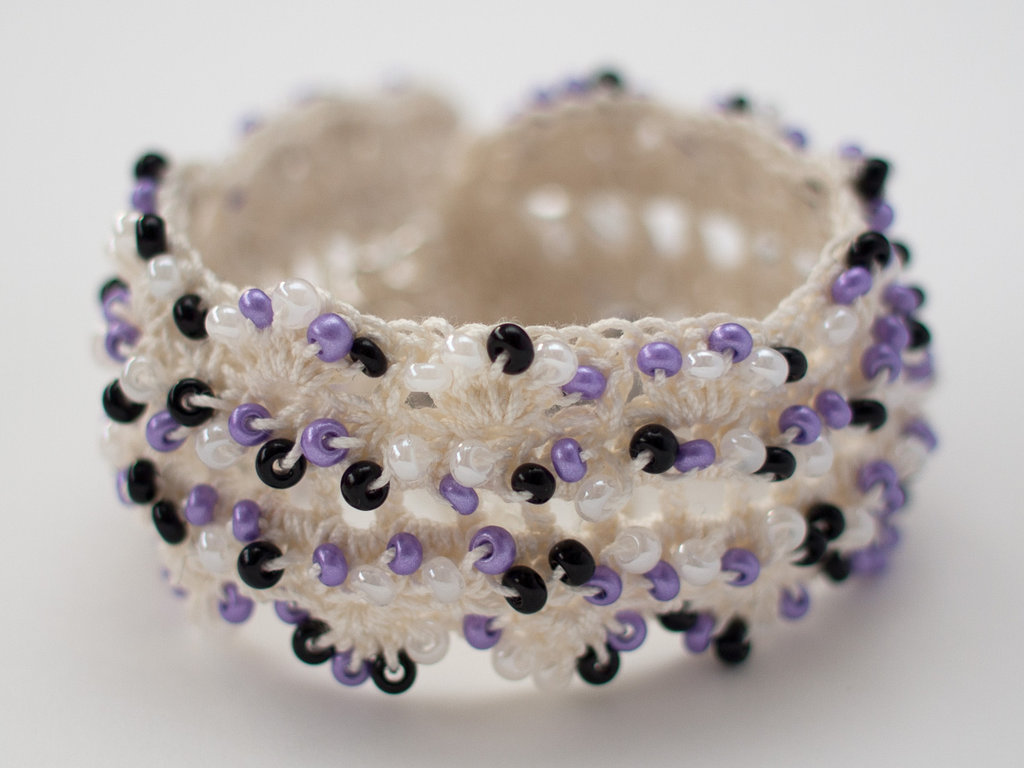 Mixed Violet Cuff