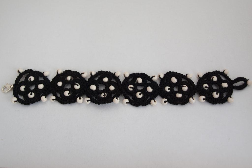 Black and Wood Bracelet